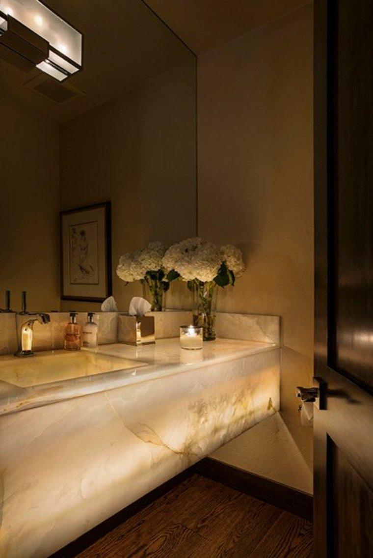 encimeras para baños modernos