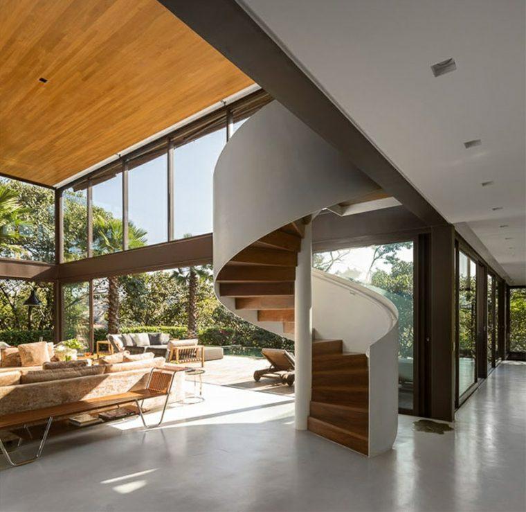 escaleras de caracol especiales naturales puentes estilos