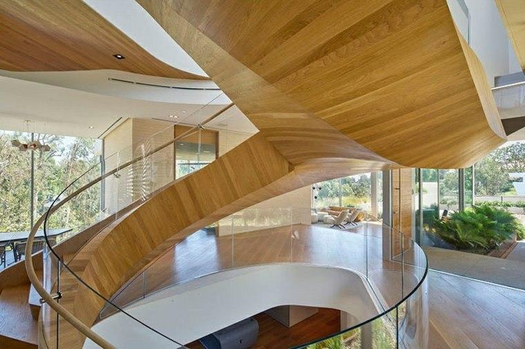 escaleras de caracol estilos madera cristal pistas with escaleras de caracol de madera para interiores