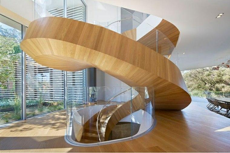 Escaleras de caracol con una imagen impactante para el - Modelos de escaleras de caracol para interiores ...
