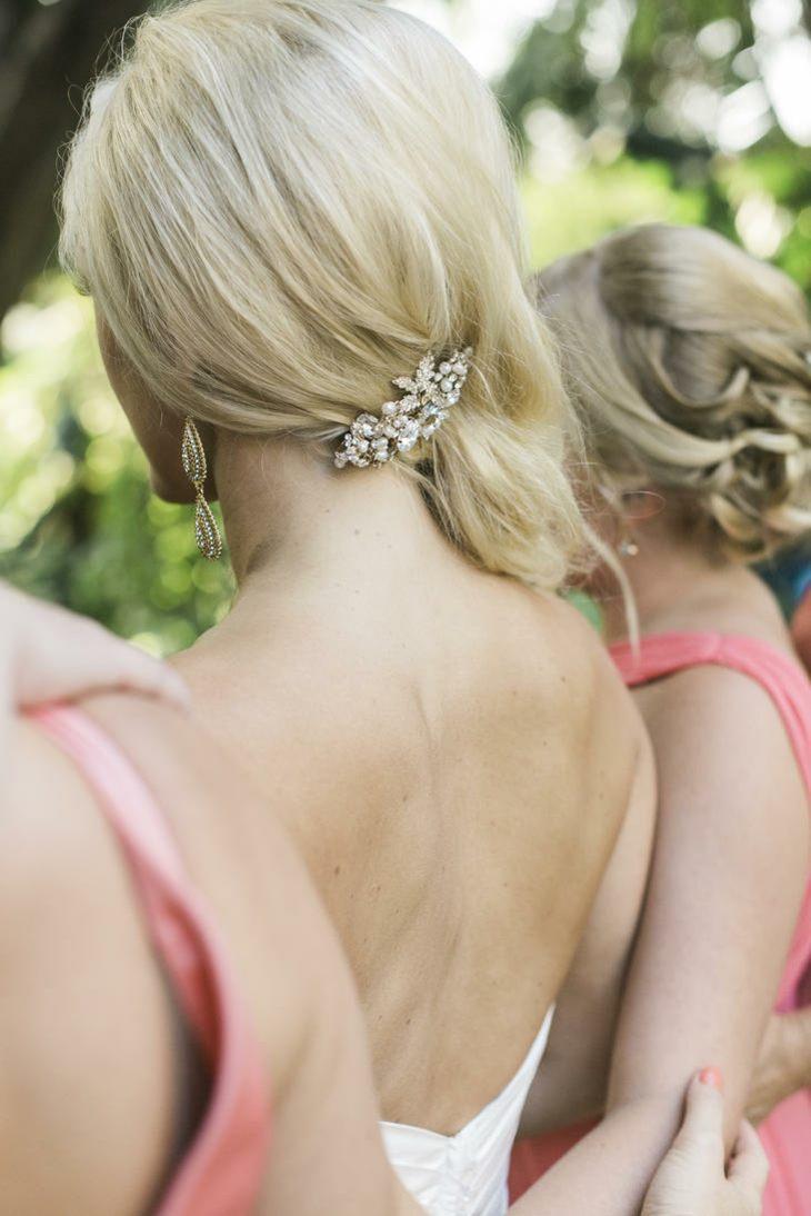 estilo novia peinado estilo detalle vintage ideas