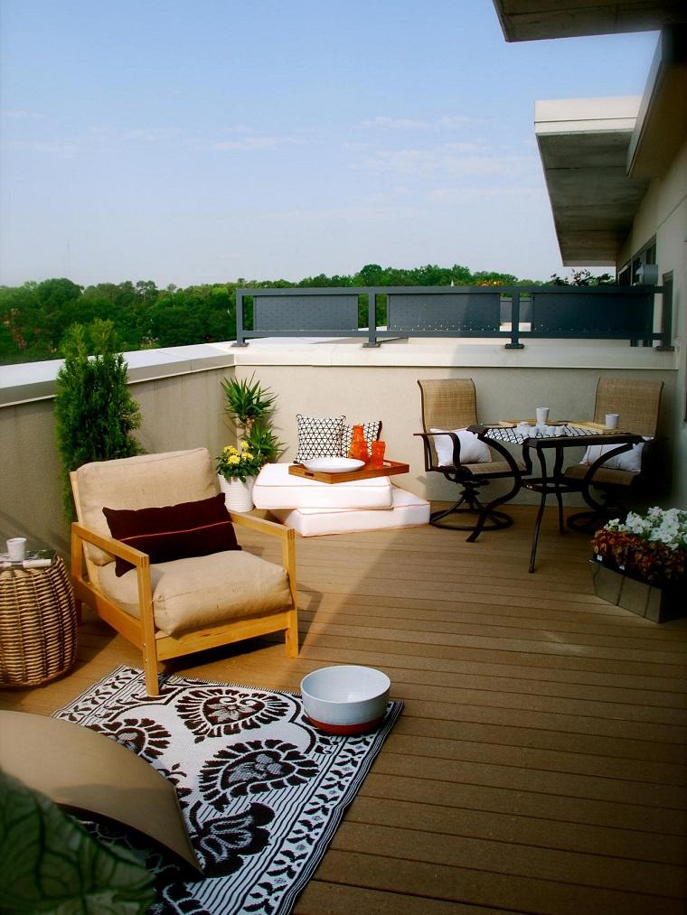 exterior eco diseno terraza estilo tradicional estilo ideas