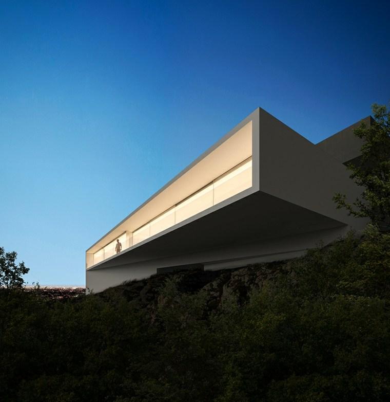 Casa Moderna En Hollywood Dise Ada Por Fran Silvestre