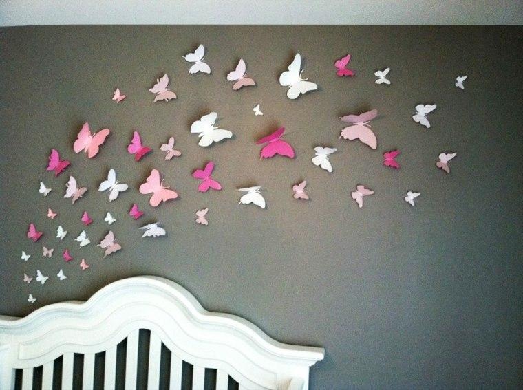 Facil simo manualidades para la decoraci n de los interiores - Manualidades para decorar paredes ...