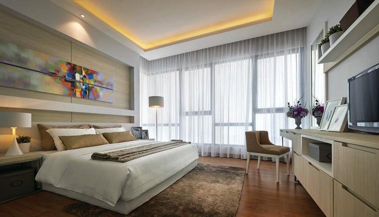 feng-shui-cama-led-formas-techados-ideas-modernas