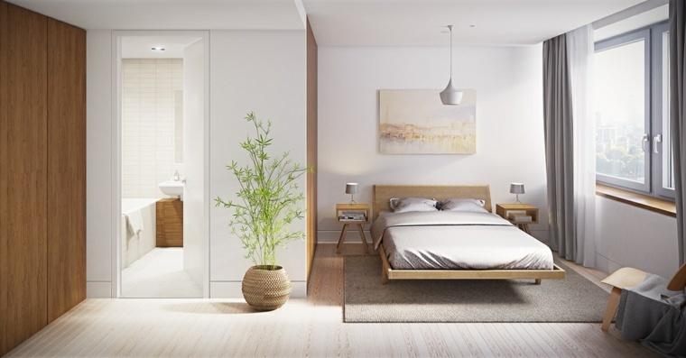 feng shui cama naturales-detalles-imagenes-paredes
