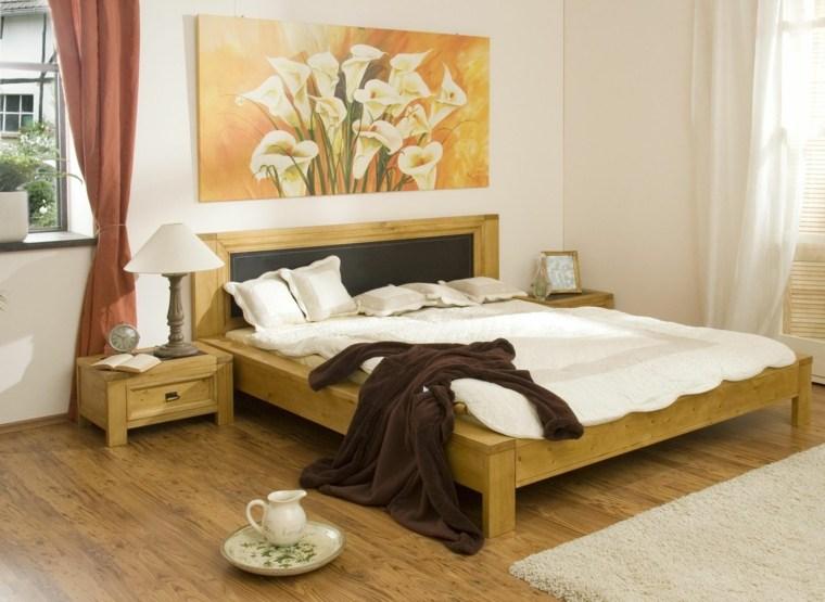 feng-shui-dormitorio-arte-paredes-muebles-madera-simples