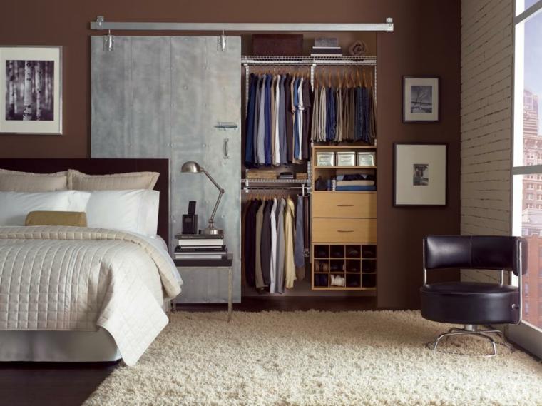 feng shui dormitorio closet-ordenado-muebles-puertas