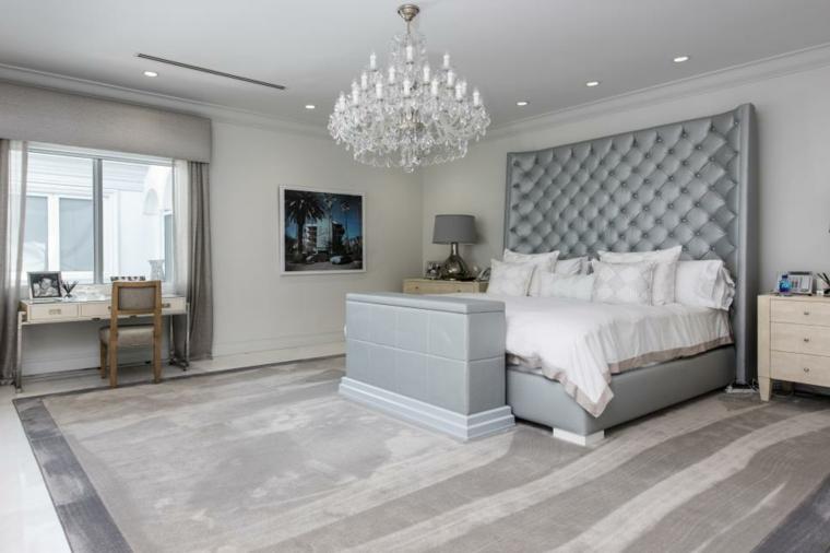 feng shui dormitorio grises-pies-camas-imagenes
