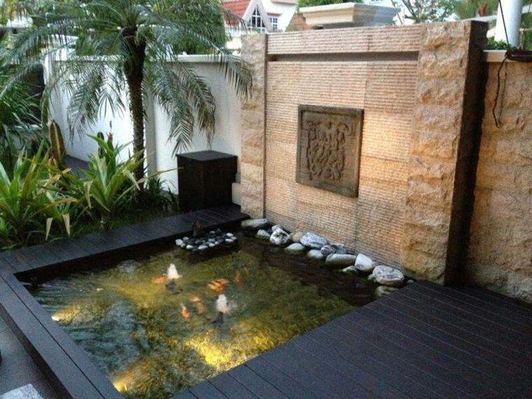 feuntes de agua jardin