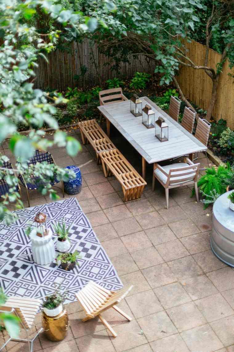 Fotos de jardines peque os con dise os llenos de vida for Jardin pequeno moderno