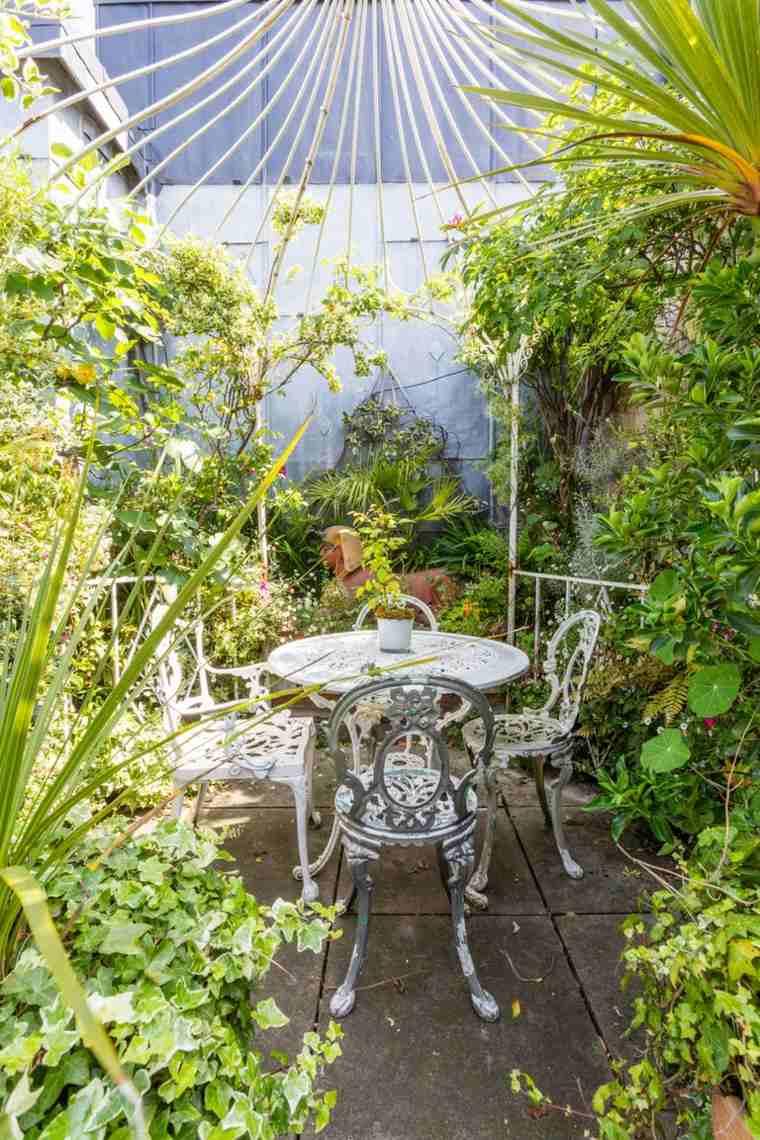 Fotos de jardines peque os con dise os llenos de vida for El jardin romantico