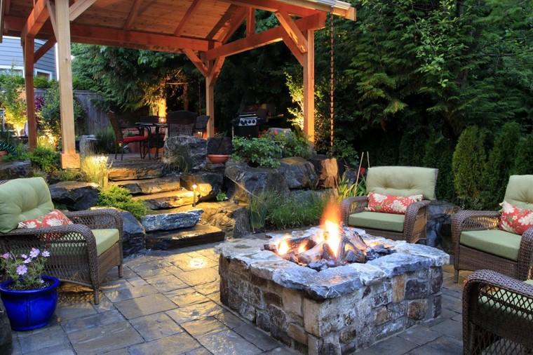 Fotos de jardines r sticos con dise os magn ficos for Jardines disenos rusticos