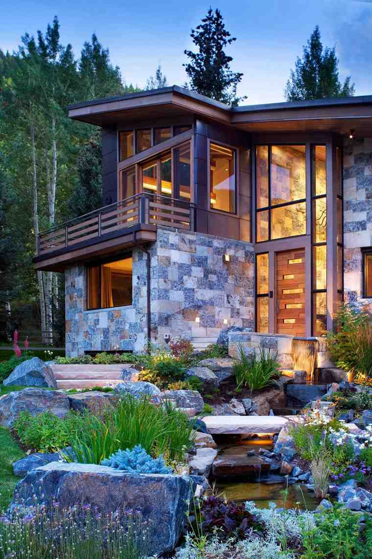 fotos de jardines rústicos-casa-disenada-Suman-Architects