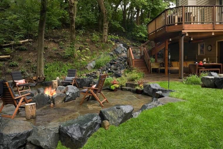 Fotos de jardines r sticos con dise os magn ficos for Ideas para jardines rusticos