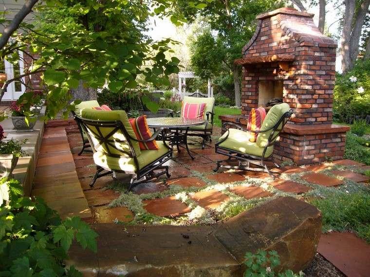 Fotos de jardines r sticos con dise os magn ficos for Diseno de muebles de jardin al aire libre