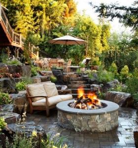 fotos de jardines rsticos con diseos magnficos