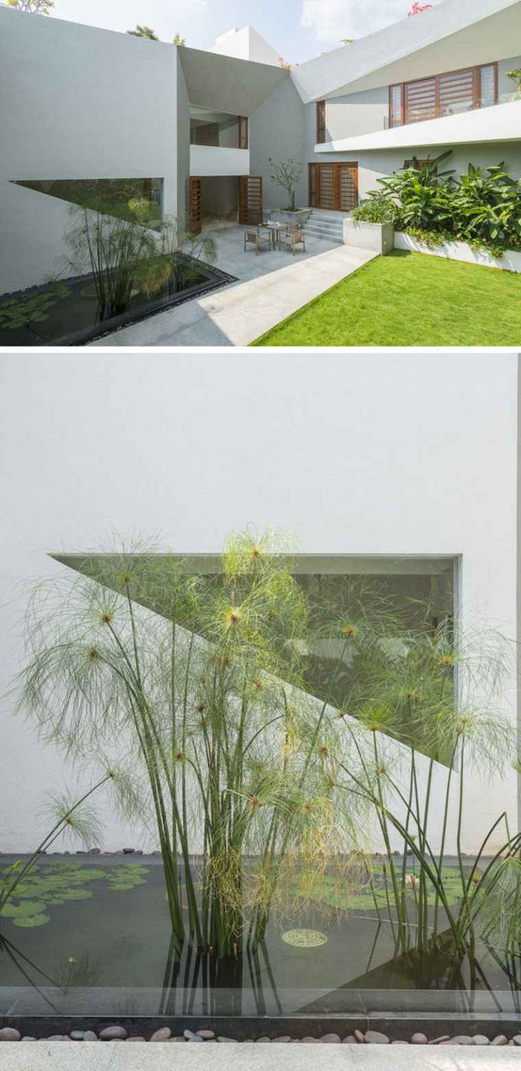 fuentes agua jardin