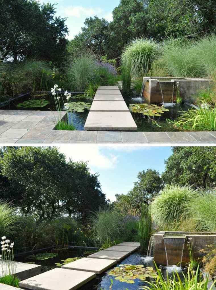 fuentes de jardin pequeñas