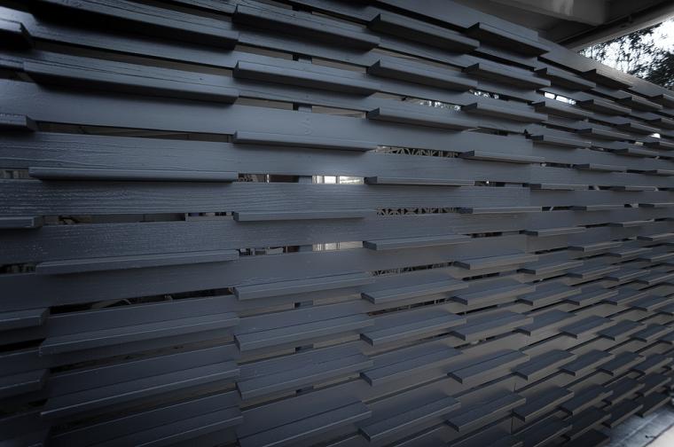 grises blaoques madera ladrillos formas modernas