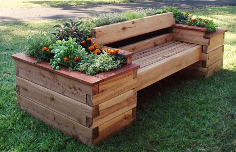 Ideas con palets para jardines creativos y asombrosos - Ideas con palets de madera ...