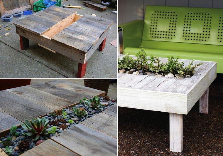 ideas con palets suculentas-mueble-mesa-funcional