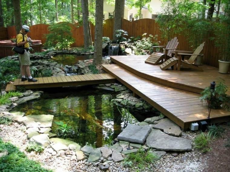 plataforma madera