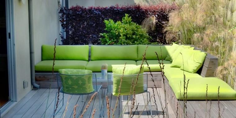 textiles verdes