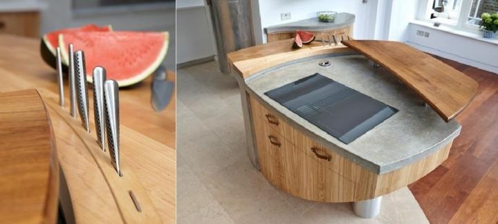 imagenes increibles isla redonda mueble cocina partes