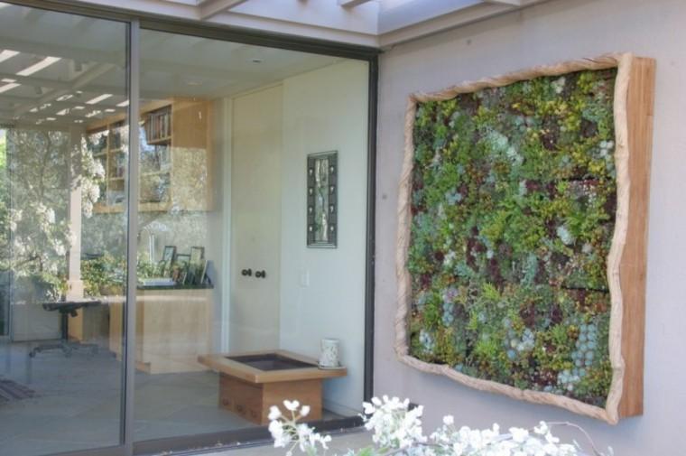 jardin vertical casero jardines verticales caseros aprende a dise arlos y mantenerlos originales ideas El cielo es el límite para los jardines verticales de pared, pues son  esencialmente iguales que los jardines regulares. Usted puede cultivar una  selección ...