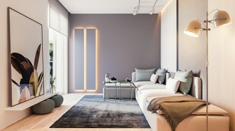 interiores de diseño modernos elegantes