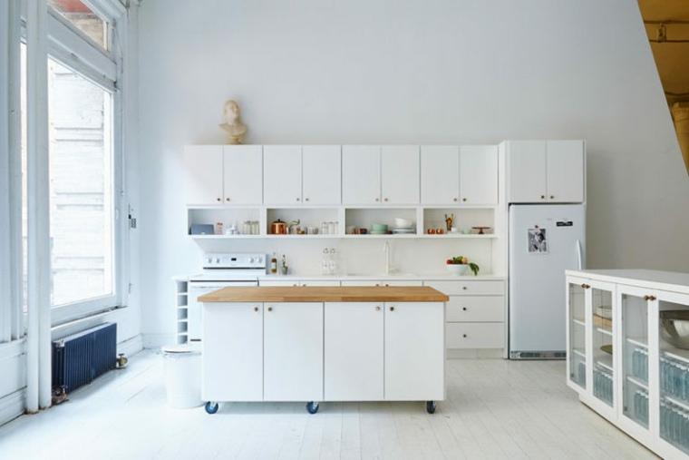 isla de cocina moderna decorar