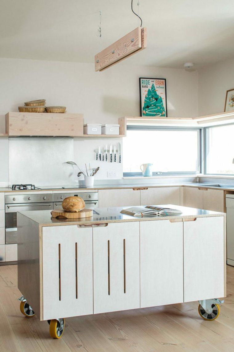 islas para cocina moderna decorar
