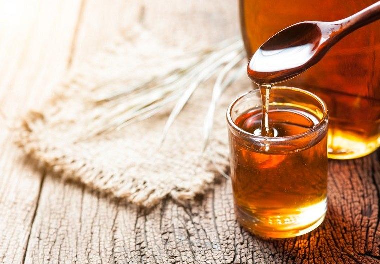 jarabe miel efectos dexintocicacion cuerpo mesas