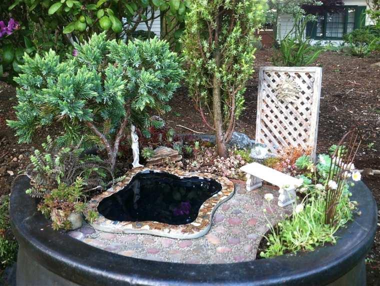 jardín estanque