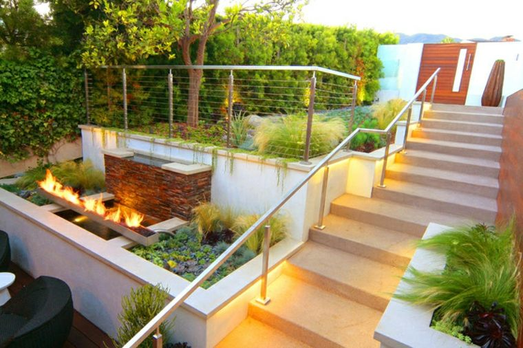 Decoraci n de jardines peque os y patios traseros for Decoracion de interiores jardines de invierno