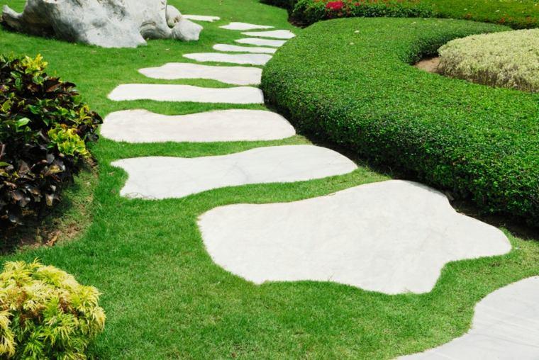 Jardines con cesped artificial para la decoraci n de la casa - Jardines de cesped artificial ...