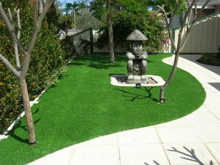 jardines con cesped