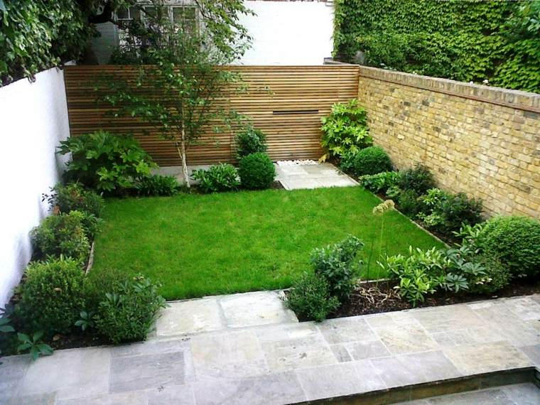jardines pequeños ideas-bases-colores-especiales