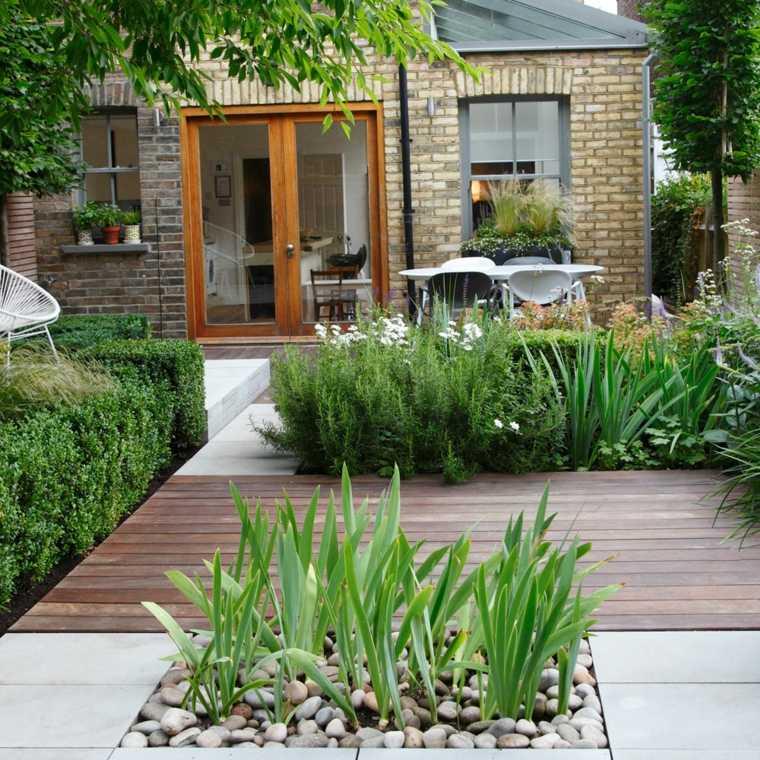 jardines pequeños ideas casas-muebles-camas-puentes