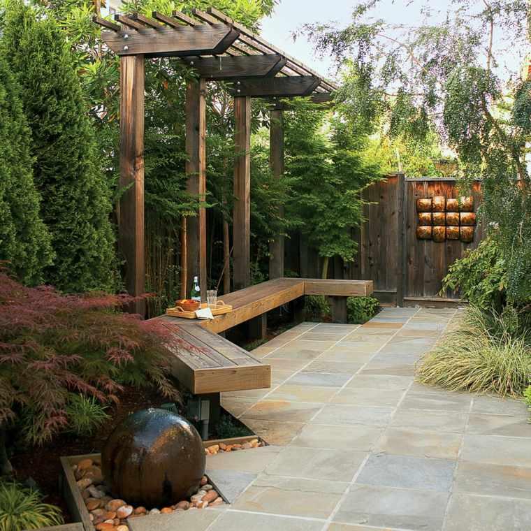 jardines-pequeños-ideas-frontal-sendero-muebes