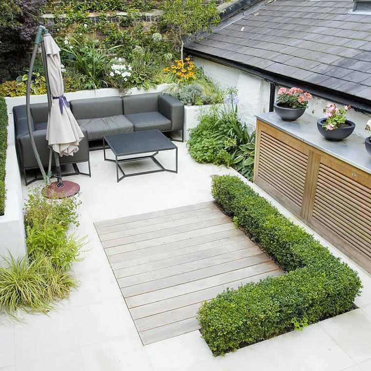 jardines pequeños ideas geometrico-especial-partes