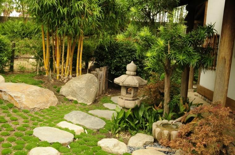 jardines pequeños ideas inspiracion-japonesa-fuentes