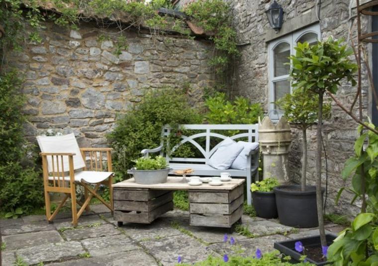 jardines-pequeños-ideas-rocas-ambientaciones-elegantes-imagenes