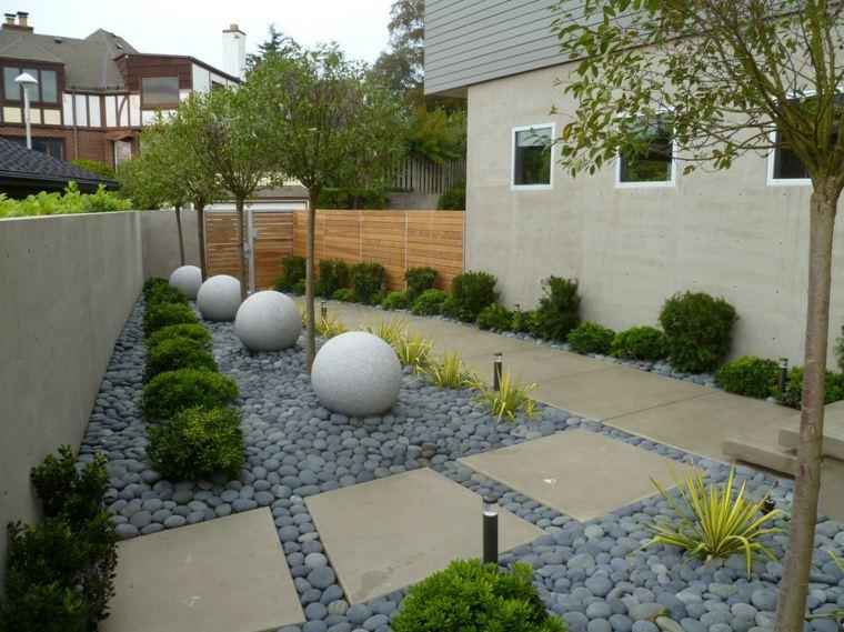 Jardines Piedras Y Consejos Para Usarlas En Disenos Inspiradores - Jardin-con-piedras