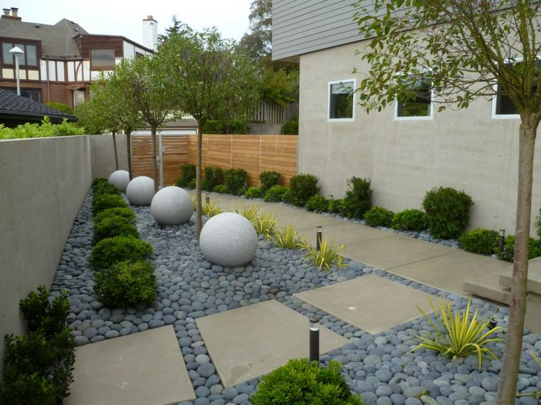 jardines piedras moderno-imagenes-salones