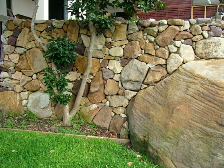 jardines-piedras-muro-rocas-estructura-imagens-plantas