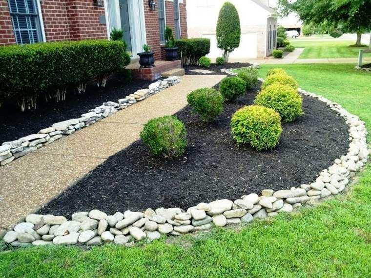 Jardines piedras y consejos para usarlas en dise os for Decoracion de jardines con piedras de colores