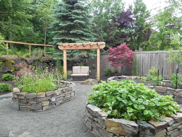 jardines-piedras-rustico-acabados-espacios-pergola