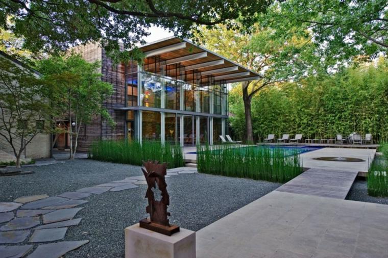 jardines-piscinas-esculturas-minimalista-diseño-esculturas